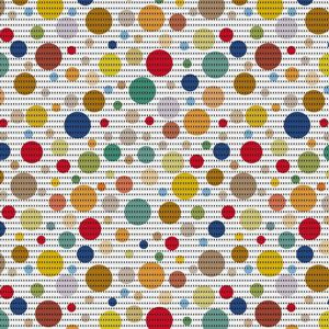 Aquamat 271-3159 modern bubbles 65x15