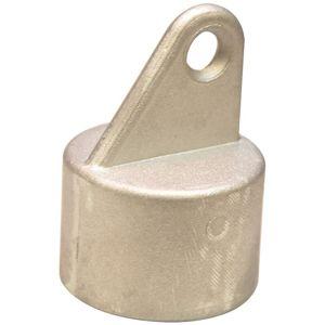 Hliníkový kryt na upevnenie podpery 38 mm box