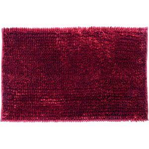 Kúpeľňový koberček Star 50x80cm červená