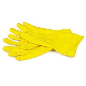 Latexová rukavica na čistenie XL žltá