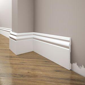 Lista podlahova Elegance LPC-08-T101 biely satin