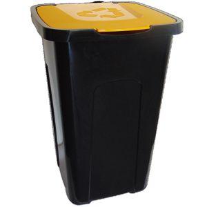 Nádoba na odpady 50 l na triedenie, žltá