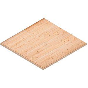 Podlaha k domčeku 495x398